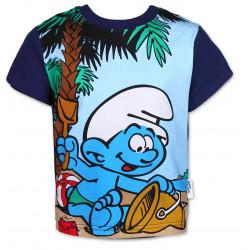 SETINO tričko kr.rukáv tmavě modré šmoulové vel 110