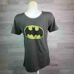 SUN CITY   tričko pánské žíhané šedé Batman vel L