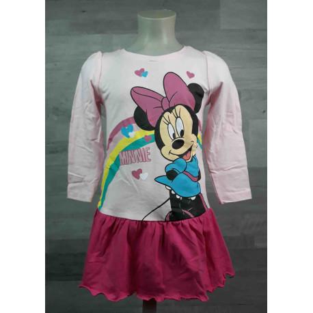 cd24072210ea DISNEY šaty MINNIE MOUSE růžové vel 98 - Dětské oblečení s Disney