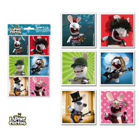 ELI magnetky KRÁLÍCÍ ÚTOČÍ 6ks - Dětské oblečení s Disney 0d24f14ce63