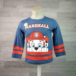 NICKELODEON tričko TLAPKOVÁ PATROLA modrošedé Marshall vel 110
