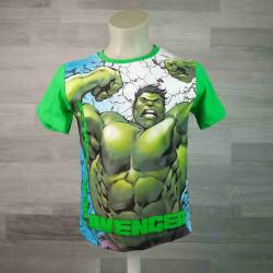 MARVEL tričko AVENGERS zelené vel 140