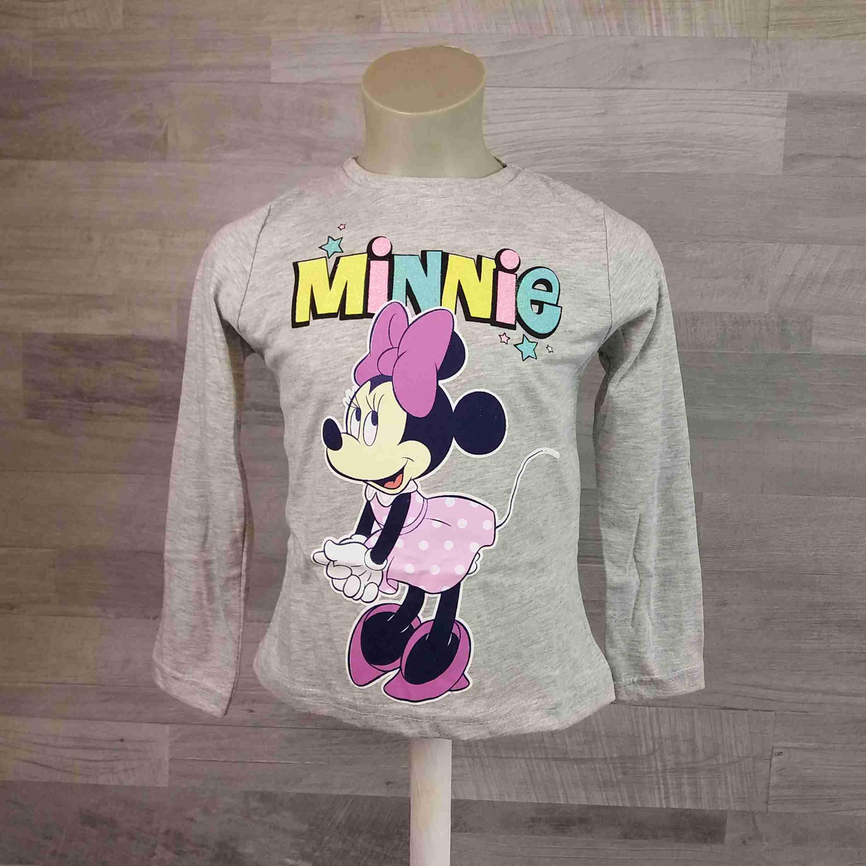 b78e3310dbb1 DISNEY tričko MINNIE MOUSE šedé vel 134 - Dětské oblečení s Disney