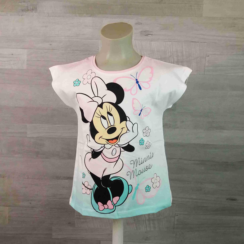 DISNEY tričko MINNIE MOUSE bílé vel 128 - Dětské oblečení s Disney d8310d48ef