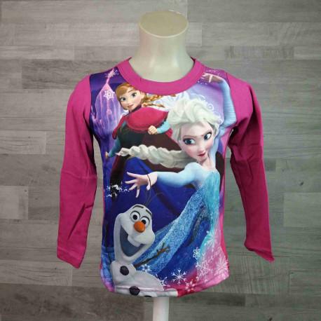 b78266507213 DISNEY tričko tmavě fialové FROZEN vel 116 - Dětské oblečení s Disney
